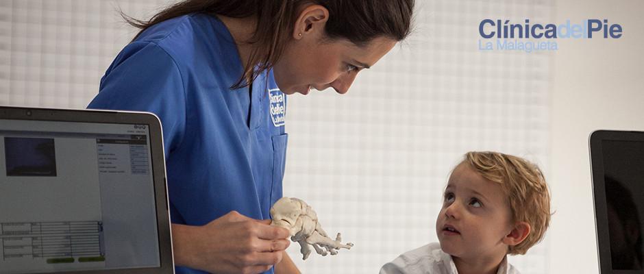 podologo para niños en malaga